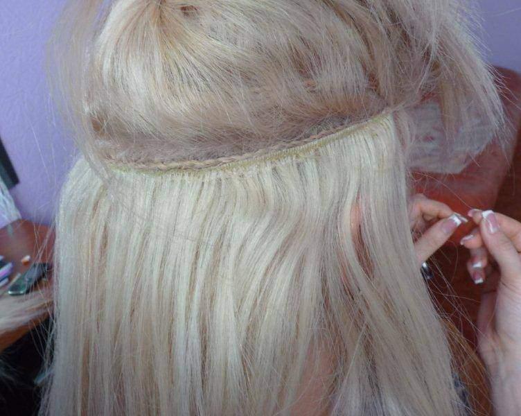 Кто наращивал волосы на косу